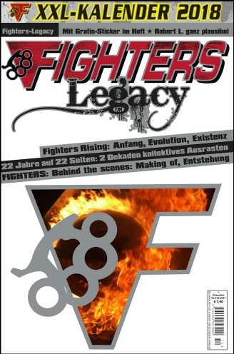 13.12.2017 - Fighters Legacy - letzte Ausgabe